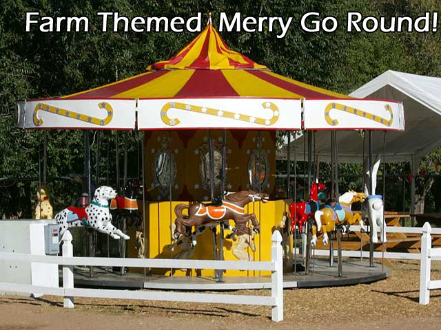 Farm Themed Merry Go Round