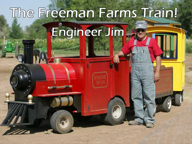 Freeman Farms Kid's Train